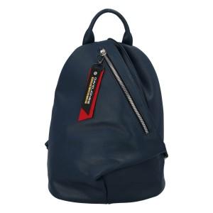 Módní dámský batoh David Jones Enita - modrá