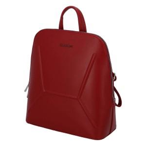 Dámský módní batůžek David Jones Aurora - červená