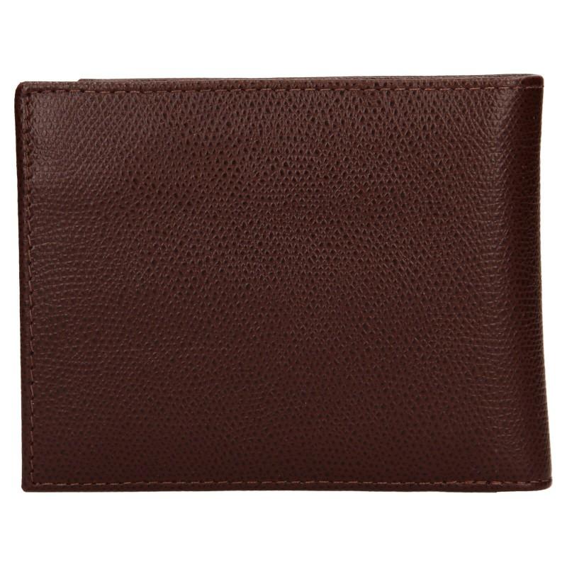 Pánská kožená peněženka Tommy Hilfiger Pierro - černá