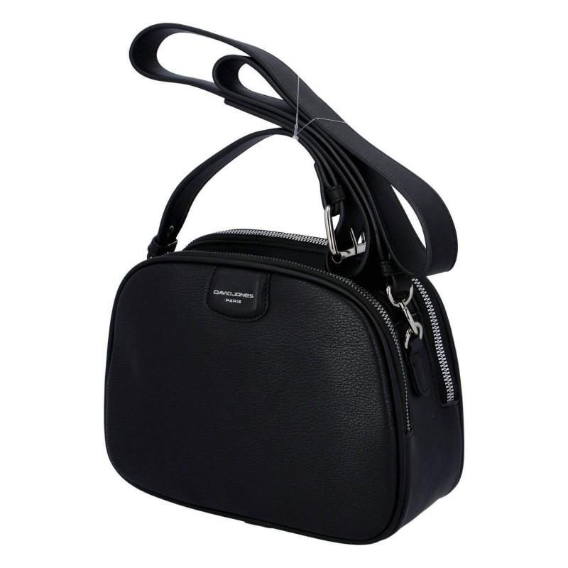 Dámská crossbody kabelka David Jones Emma - černá