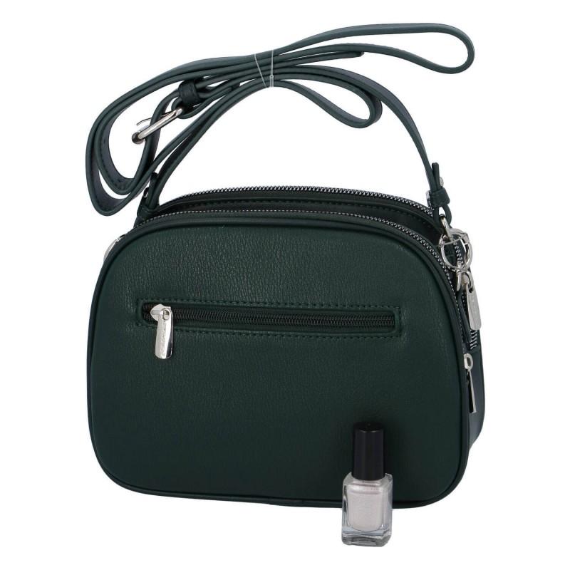 Dámska crossbody kabelka David Jones Emma - zelená