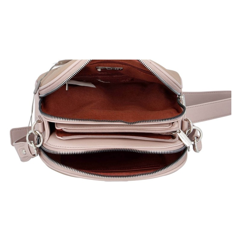 Dámska crossbody kabelka David Jones Emma - růžová