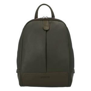 Módní dámský batoh David Jones Karla - khaki