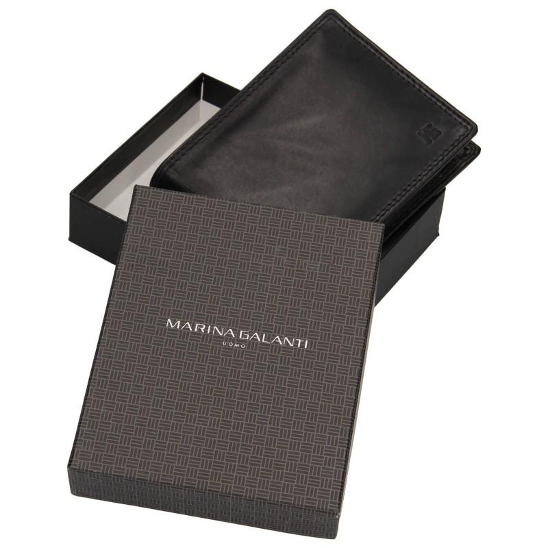 Pánská peněženka Marina Galanti Pavol - černá