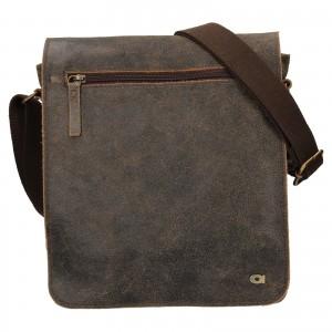 Pánská kožená taška Daag Joel - světle hnědá