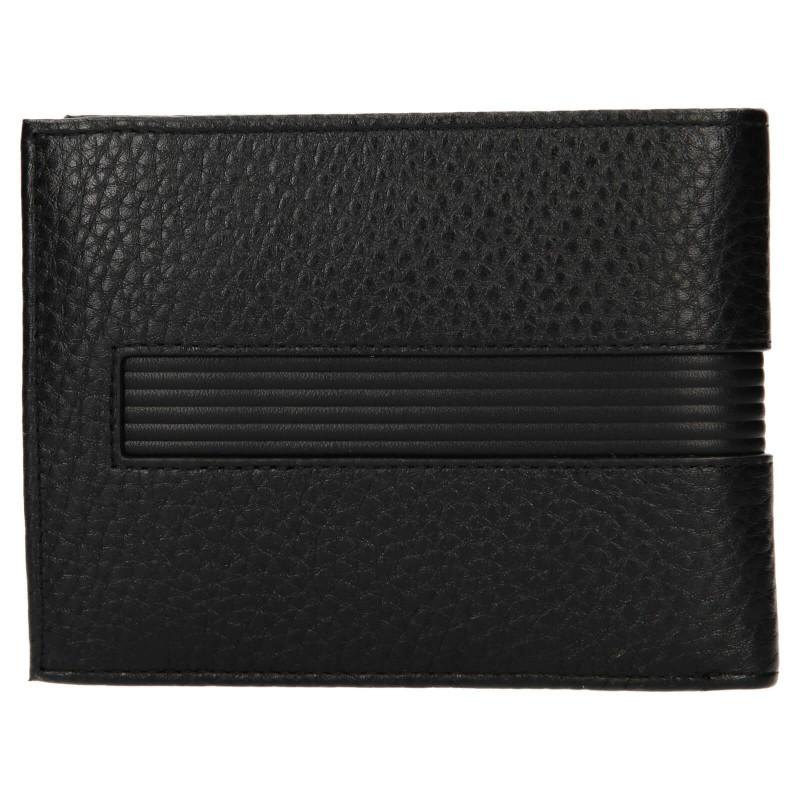 Pánská kožená peněženka Tommy Hilfiger Merone - černá