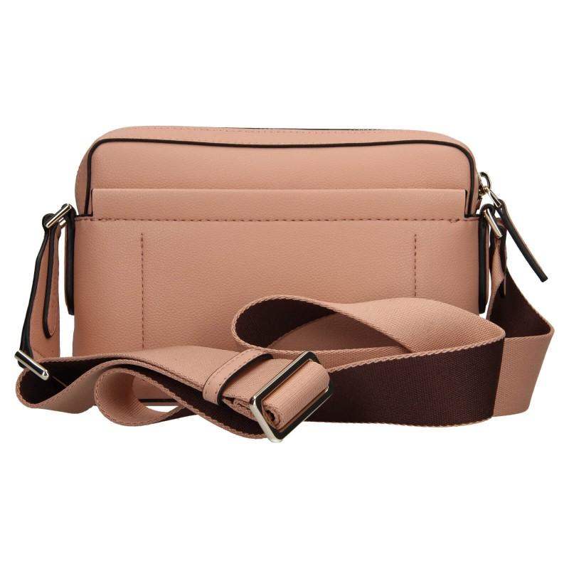 Dámská crossbody kabelka Calvin Klein Apolenas - růžová