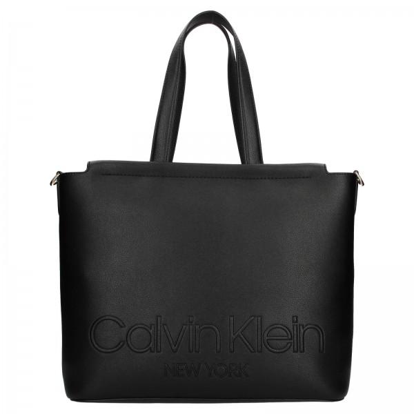 Dámská kabelka Calvin Klein Vivas - černá