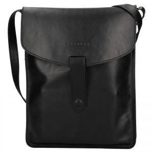 Pánská taška přes rameno Facebag Lexin - černá
