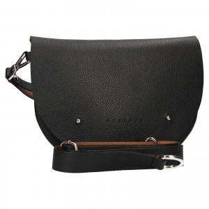 Trendy dámská kožená ledvinka Facebag Alena - černá