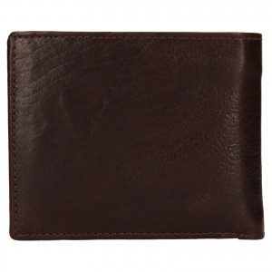 Pánská kožená peněženka SendiDesign Igor - hnědá