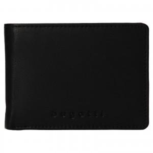 Pánská kožená peněženka Bugatti Hanke - černá