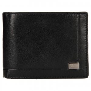 Pánská kožená peněženka Rovicky Kamil - černá