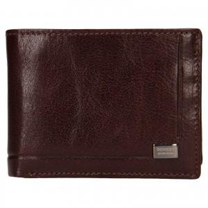 Pánská kožená peněženka Rovicky Kamil - hnědá
