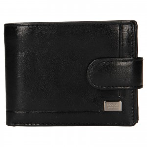 Pánská kožená peněženka Rovicky Fabio - černá