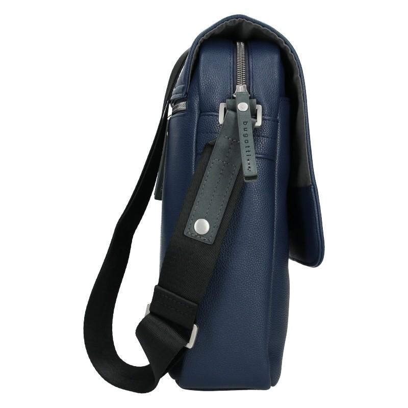 Pánská taška přes rameno Bugatti Moto F - modrá