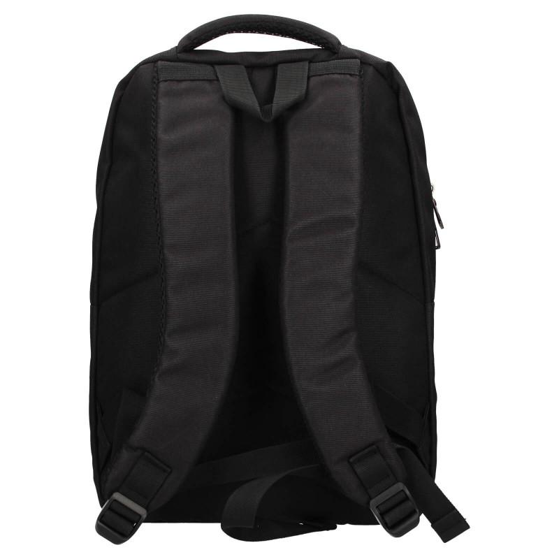 Moderní pánský batoh Enrico Benetti Oslo - černá