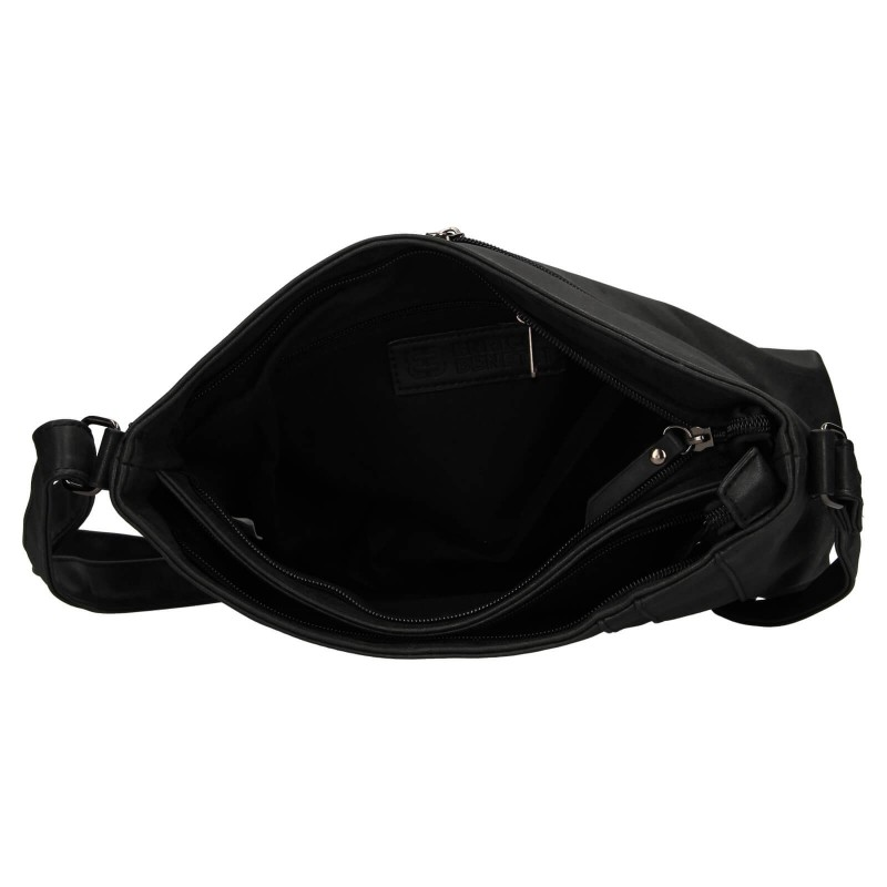 Dámská crossbody kabelka Enrico Benetti Laura - černá