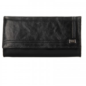 Dámská kožená peněženka Rovicky Federica - černá