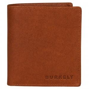 Pánská kožená peněženka Burkely Vintage - koňak