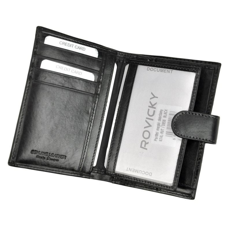 Pánská kožená peněženka Rovicky Marty - hnědá