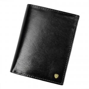 Pánská kožená peněženka Rovicky Victor - černá