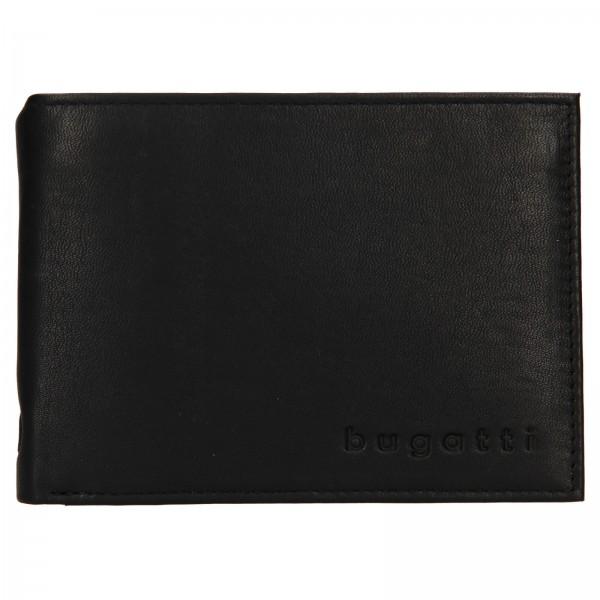 Pánská kožená peněženka Bugatti Berle - černá