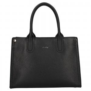 Dámská kožená kabelka Rovicky Marta - černá