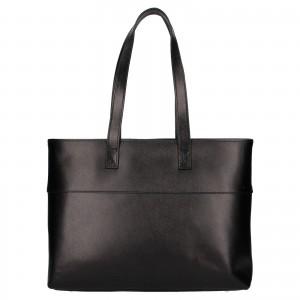 Dámská kožená kabelka Rovicky Lenka - černá