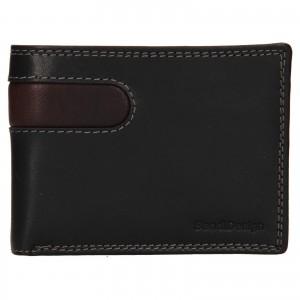 Pánská kožená peněženka SendiDesign Didier - černá