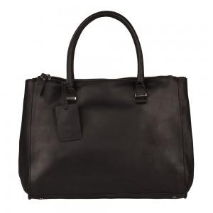 Dámská kožená kabelka Burkely Alice - tmavě hnědá