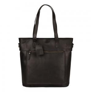 Dámská kožená kabelka Burkely Jade - černá