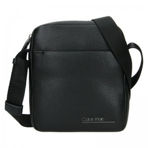 Pánská taška přes rameno Calvin Klein Fénix - černá
