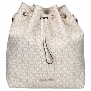 Dámská kabelka Calvin Klein Sára - hnědo-béžová