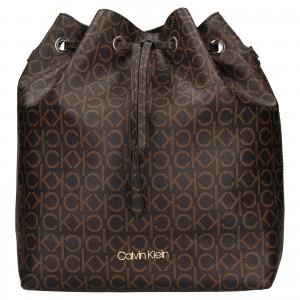 Dámská kabelka Calvin Klein Sára - hnědá