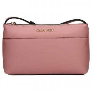 Dámská crossbody kabelka Calvin Klein Kanea - růžová