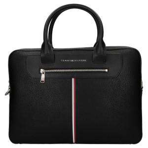 Pánská taška na notebook Tommy Hilfiger Dellon - černá
