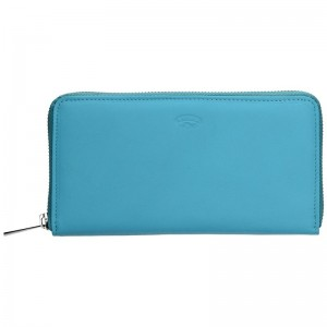 Dámská kožená peněženka Katana Olga - modrá