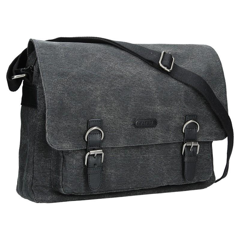 Pánská taška Katana Bredly - černo-šedá
