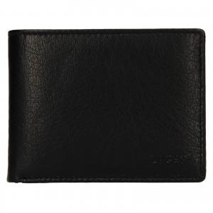 Pánská kožená peněženka Lagen Kryštof - černá