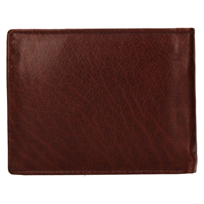 Pánská kožená peněženka Lagen Kryštof - hnědá