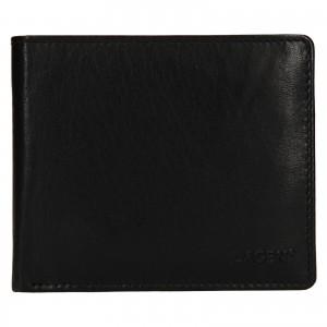 Pánská kožená peněženka Lagen Niklas - černá