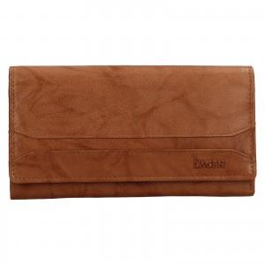 Dámská peněženka Lagen Camilla - koňak