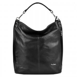 Dámská kožená kabelka Pierre Cardin Nella - černá