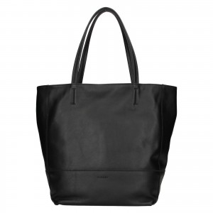 Dámská kožená kabelka Ripani Ditte - černá