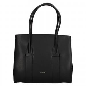 Dámská kožená kabelka Ripani Bussola - černá