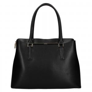 Dámská kožená kabelka Ripani Divina - černá