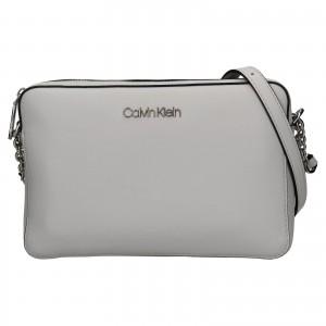 Dámská crossbody kabelka Calvin Klein Naoni - světle šedá