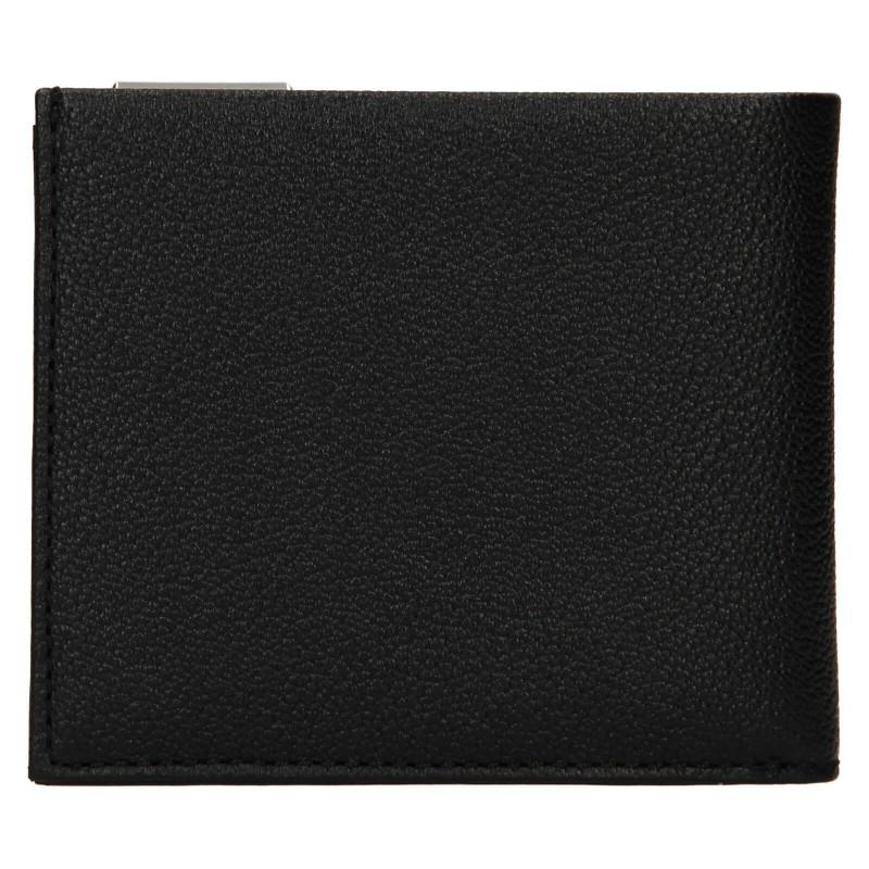Pánská kožená peněženka Calvin Klein Dorn - černá