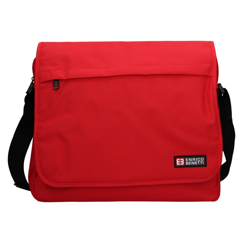 Pánská taška přes rameno Enrico Benetti Rudolf - červená